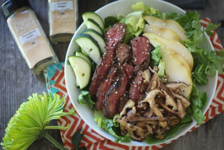 asian-steak-and-pear-salad