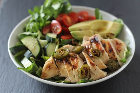 coconut-lime-jalapeno-marinated-chicken-salad