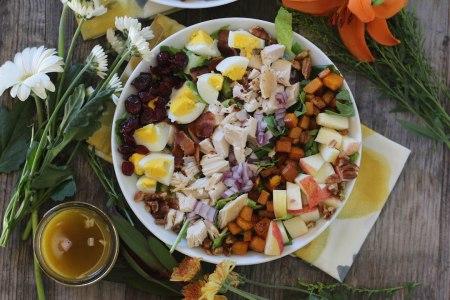fall-harvest-salad-wapple-maple-vinaigrette